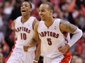 Jarryd Bayless has picked up his game over the last two weeks and is giving Raptor fans a reason to smile when thinking about next year.