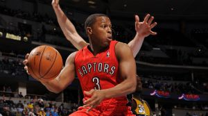Kyle Lowry seems to have lost his spot as the starting point guard, but may find more success coming off the bench.