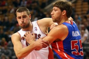 The time for Jonas Valanciunas to get more playing time is now.  With the playoffs in the rearview mirror, Jonas needs to be allowed to play more and develop further for next season.
