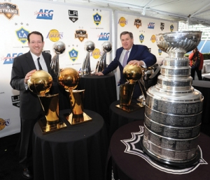Tim Leiweke was brough to MLSE to create championship calibre teams and that is what he is starting to do.  Photo by: JUAN OCAMPO / ANDREW D. BERNSTEIN & ASSOCIATES